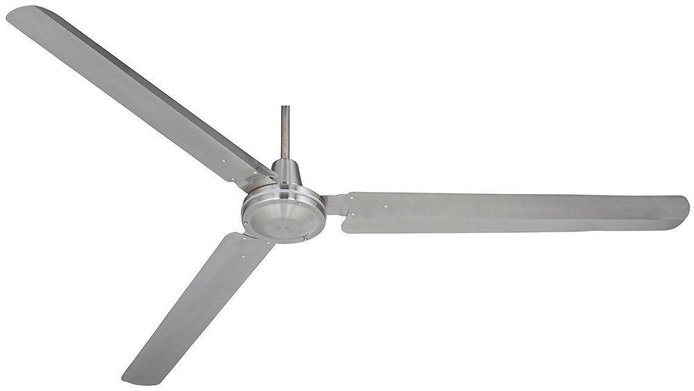 "72"" Casa Velocity Brushed Nickel Ceiling Fan"