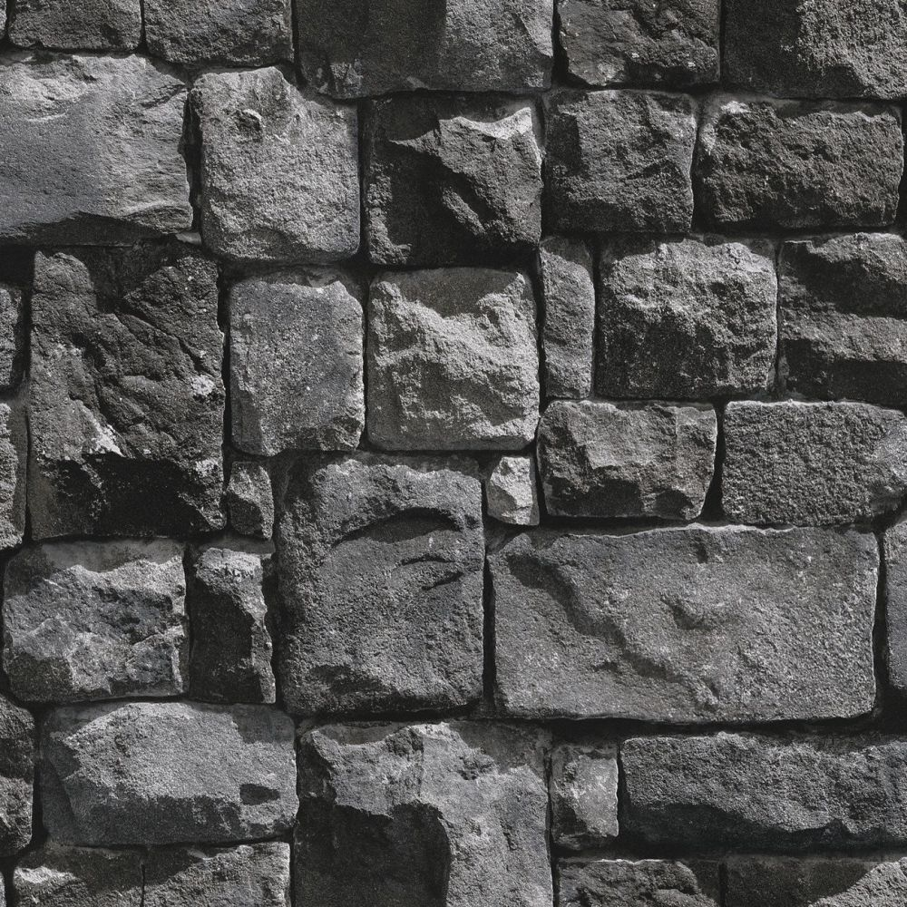 Textured brick wallpaper with high quality material and for Black 3d brick wallpaper