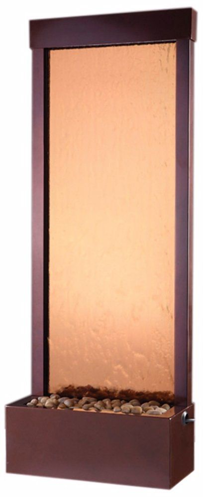 Bluworld GF4DB Petite 4' Dark outdoor lighting Copper Garden fall with Bronze Mirror