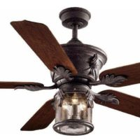 Hampton Bay Milton 52 In. Indoor/outdoor Oxide Bronze Patina Ceiling Fan