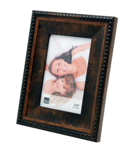 Kiera Grace Sydney Picture Frame, 4 by 6-Inch, Antique Bronze