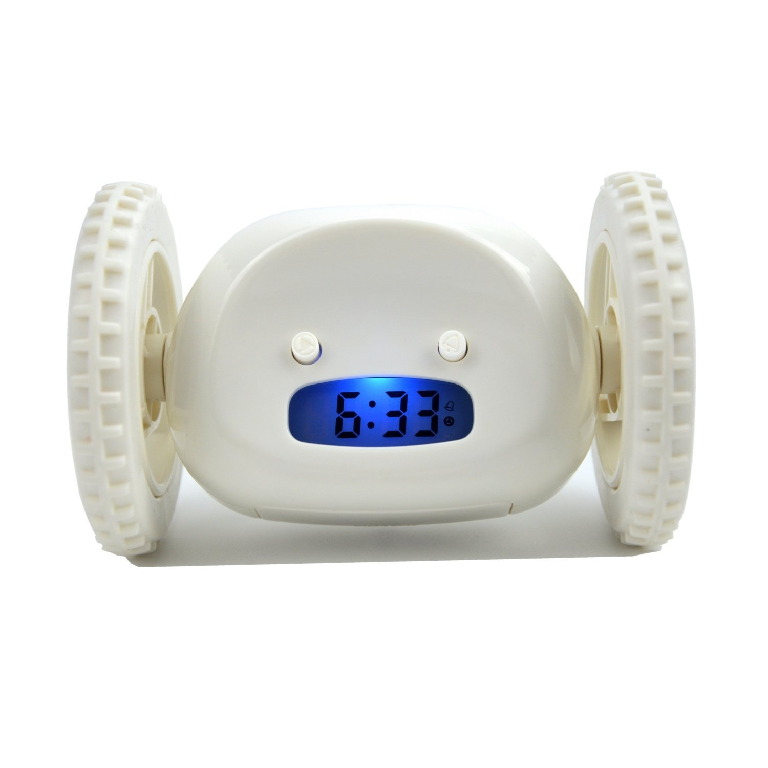 Ning store Alarm Clock on Wheels Runaway Alarm Clock Heavy Sleepers Alarm Clock Snooze Alarm Clock