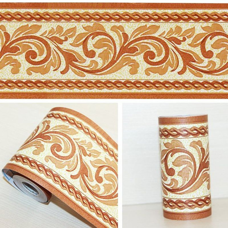 Decorative Wall Paper Trim : Wallpaper borders for bathroom and its advantages decor