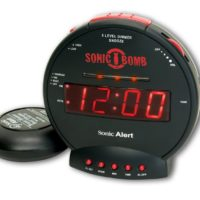 Sonic Alert SBB500SS Sonic Bomb Loud Dual Alarm Clock with Bed Shaker