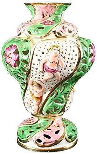 Vase Capodimonte Ceramic 1950