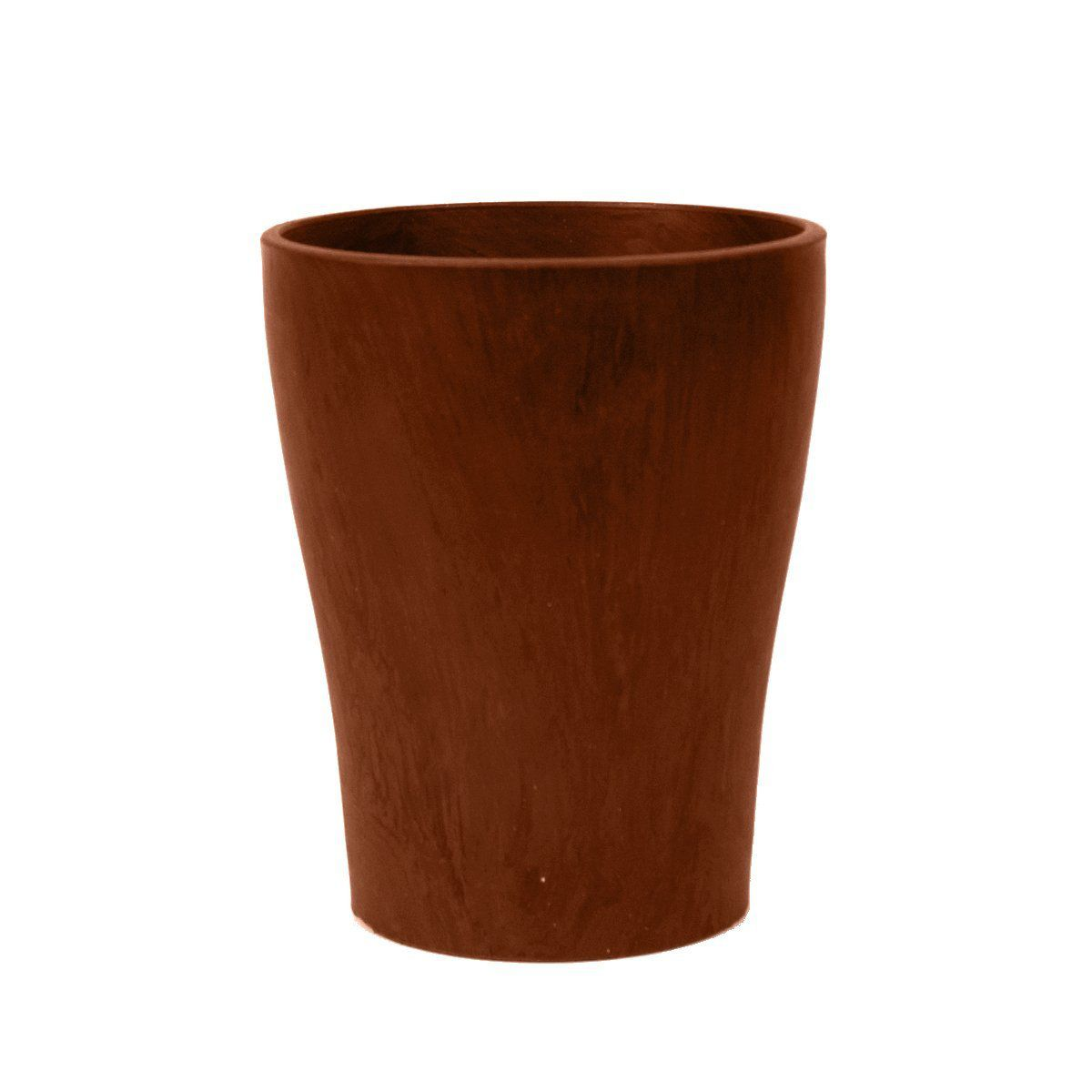 Arcadia PSW A15TC Smooth Wave Pot, 6-Inch, Terra Cotta