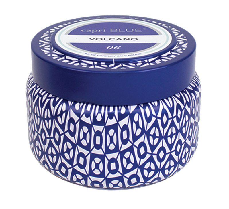 Capri Blue Volcano Printed Travel Tin Candle, 8.5 Ounce