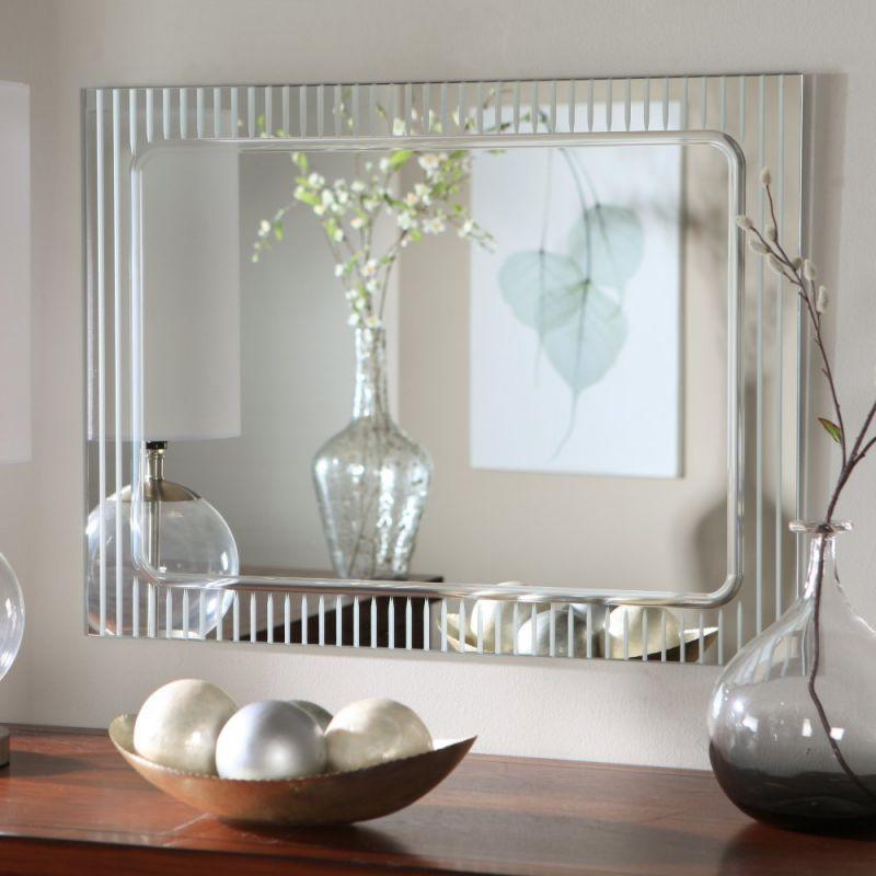 Decor Wonderland Frameless Deco Wall Mirror - 23.5W x 31.5H in.