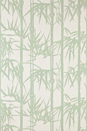 Farrow & Ball - BP2139 - Bamboo Wallpaper - Green