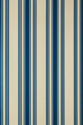 Farrow & Ball - ST1372 - Tented Stripe Wallpaper - Neutral