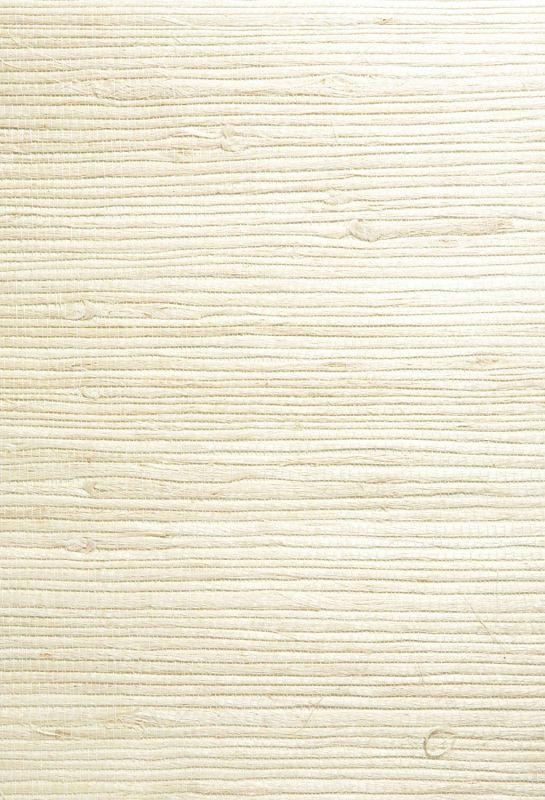 Kenneth James 63-54725 Shuang Grass Cloth Wallpaper, Cream