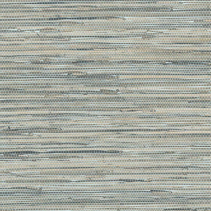 Norwall Textures 4 Faux Grasscloth Wallpaper Blue
