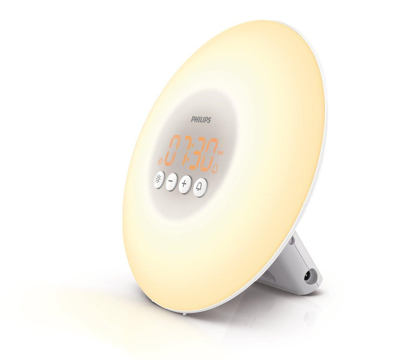 Philips Wake-Up Light with Sunrise Simulation, White, HF3500