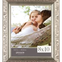 Pinnacle Antique Champagne Ornate Tabletop Frame, 8 by 10-Inch