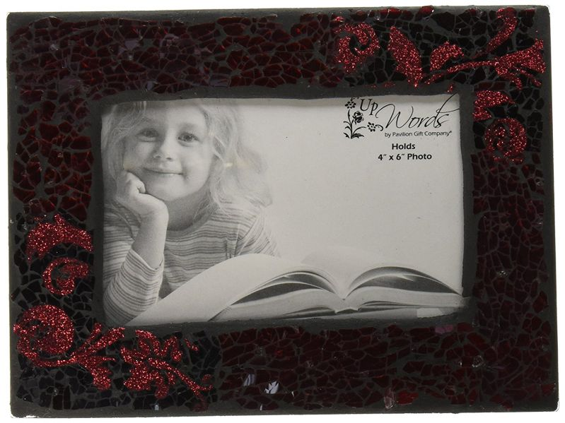 Up Words by Pavilion Photo Frame, Red, 7-3/4 by 5-3/4-Inch
