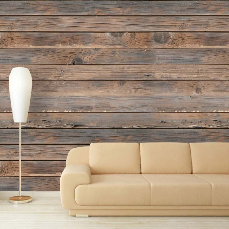 Wall26 Large Wall Mural Seamless Wood Pattern Self Adhesive Vinyl Wallpaper Removable