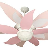 Craftmade BBL52-PNK, Five Pink Bloom Fan Blades