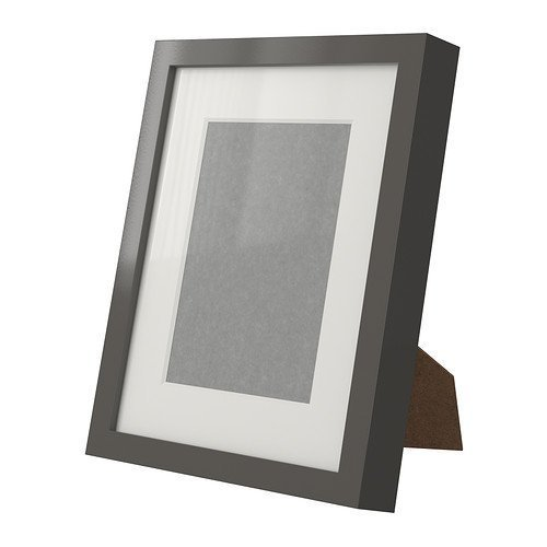 Ikea Ribba Gray 8 X 10 Picture Frame