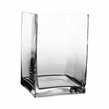 "8"" Tall Contemporary Rectangle Vases"