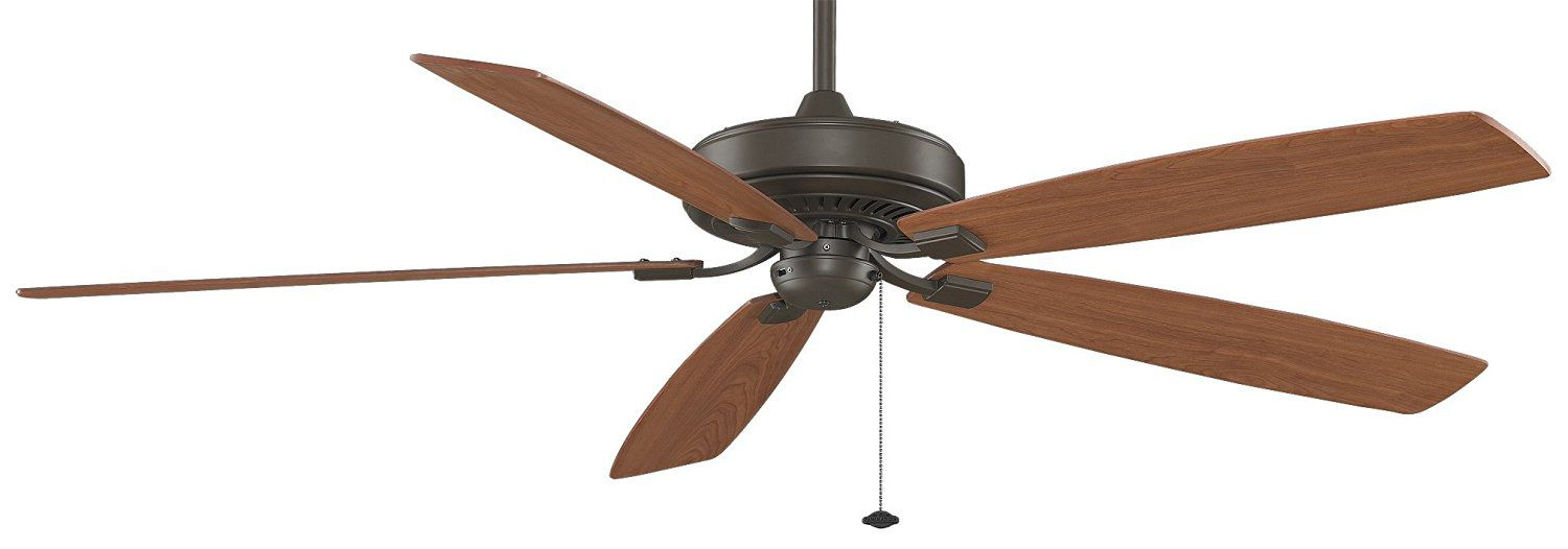 Fanimation TF721OB Edgewood Supreme 5-Blade Ceiling Fan, 72-Inch, Oil-Rubbed Bronze