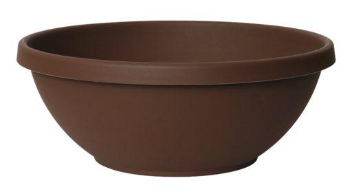 Fiskars 18 Inch TerraBowl Planter, Chocolate (20-54318)