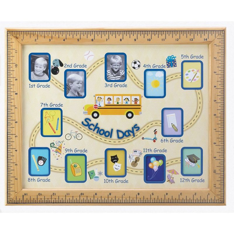 Gifts & Decor School Days Wall Hanging Photo Frame