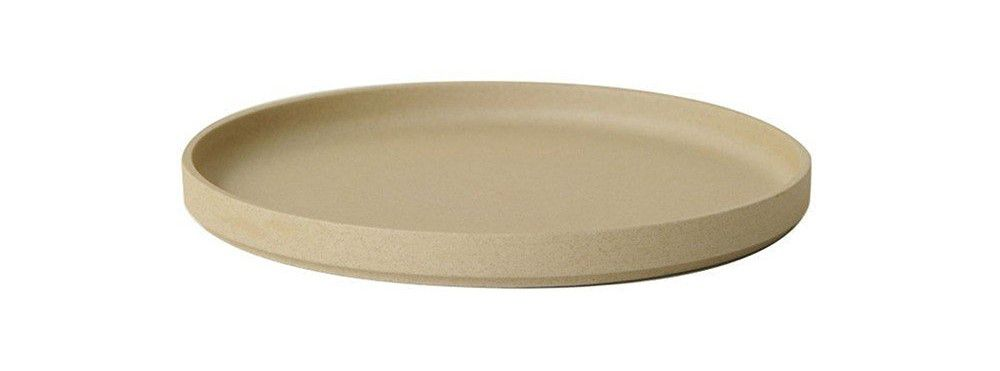 Hasami Porcelain Plate (Lid) Set of 2 Natural 8.2/3 x 7/8 (HP004)
