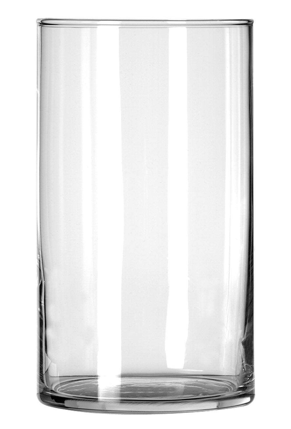 Libbey Cylinder Vase, 6-Inch, Clear, Set of 12