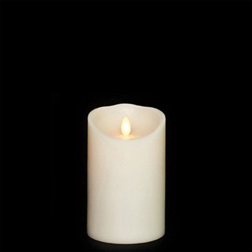 "Liown Moving Flame Flameless Candle 3.5"" By 5"""