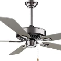 """Minka-Aire F556-BN, Contractor Plus Brushed Nickel Energy Star 52"""" Ceiling Fan"""