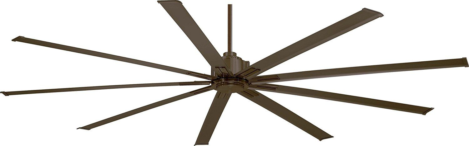 "Minka-Aire F887-72-ORB, Xtreme Oil-Rubbed Bronze 72"" Ceiling Fan with Remote Control"