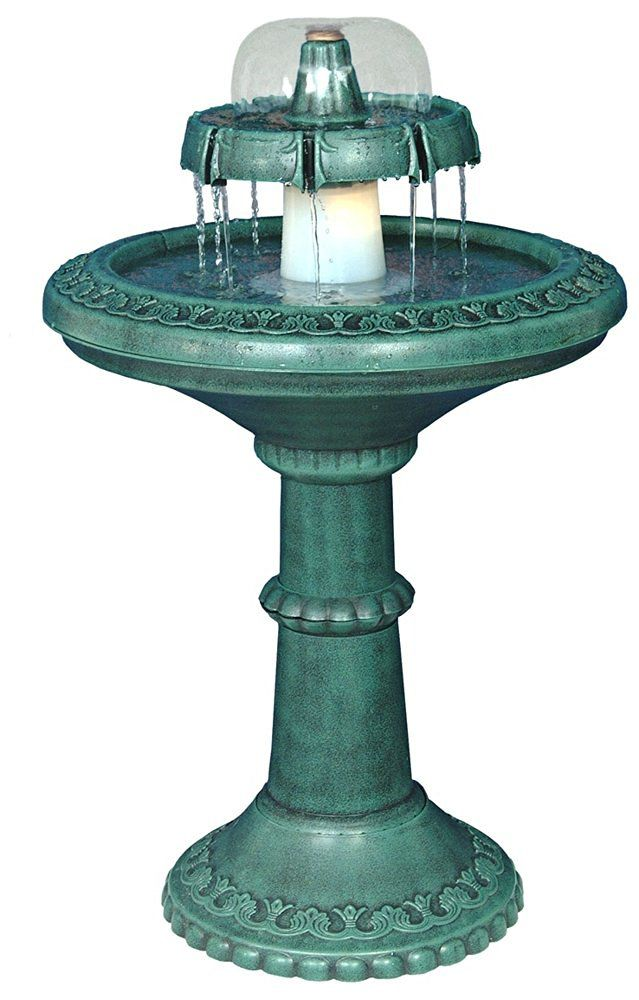Resin Column Fountain