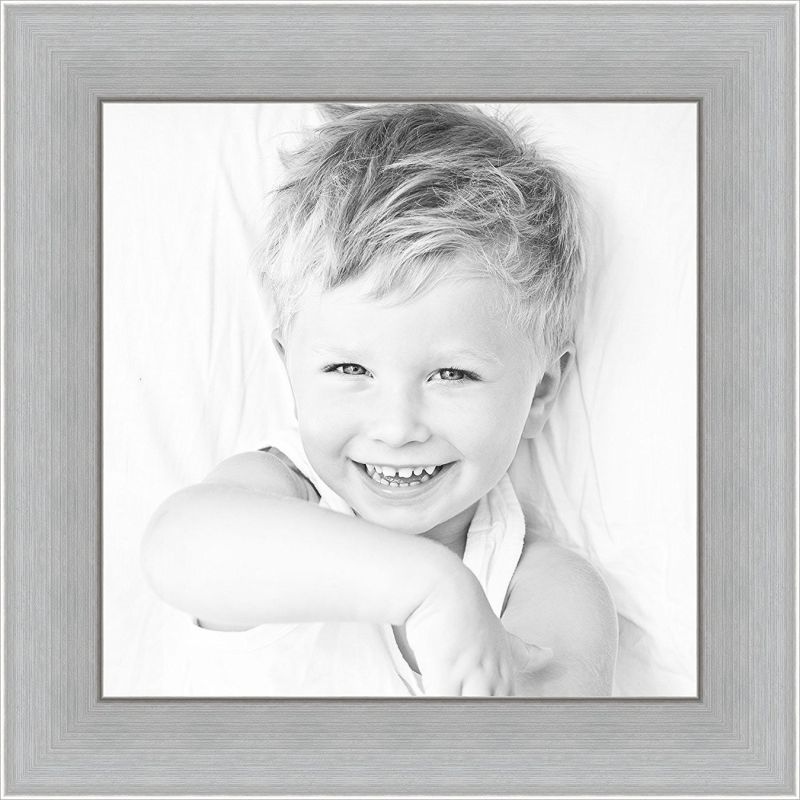 ArtToFrames 24x30 / 24 x 30 Picture Frame Stainless Steel .. 2'' wide (WOMFRBW74)