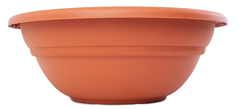 Bloem MB1820-46 Milano Planter Bowl, 20-Inch, Terra Cotta