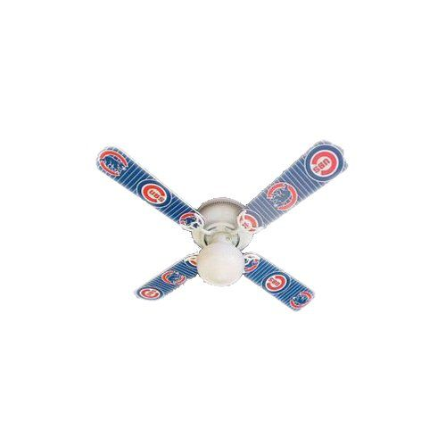 Ceiling Fan Designers Ceiling Fan, Mlb Chicago Cubs Baseball, 42""