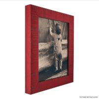Craig Frames 150013 11 by 14-Inch Picture Frame, Solid Wood, Rustic Finish, 1.5-Inch Wide, Flag Red