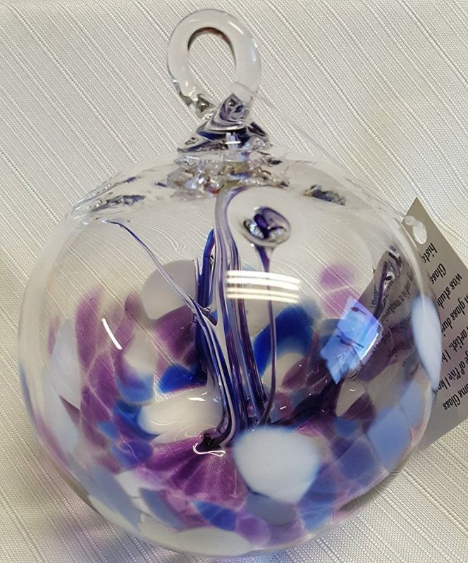 Glass Witchball/Ornament by Luke Adams Handblown Glass