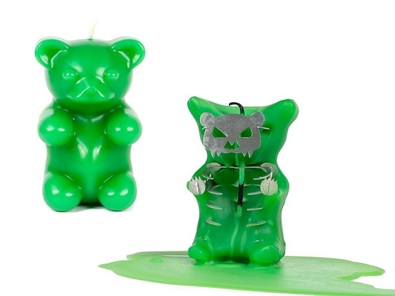 Gummy Bear Candle – Scented – Skeleton Candles – Green