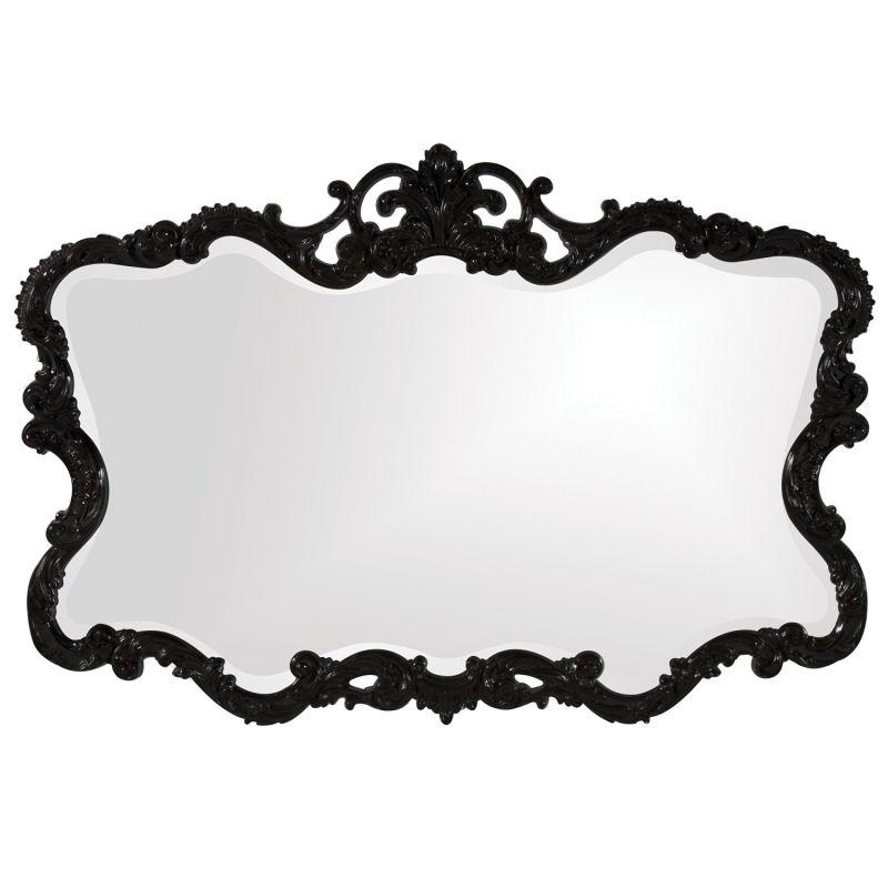 Howard Elliott 21184 Talida Mirror, Black