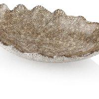IVV Glassware Madagascar Decorative Centerpiece Bowl, 16-1/2-Inch by 19-Inch