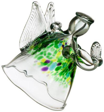 Kitras 6-Inch Angel Art Glass, Blessings
