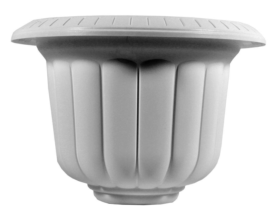 Novelty 38192 Classic Urn, White, 19-Inch
