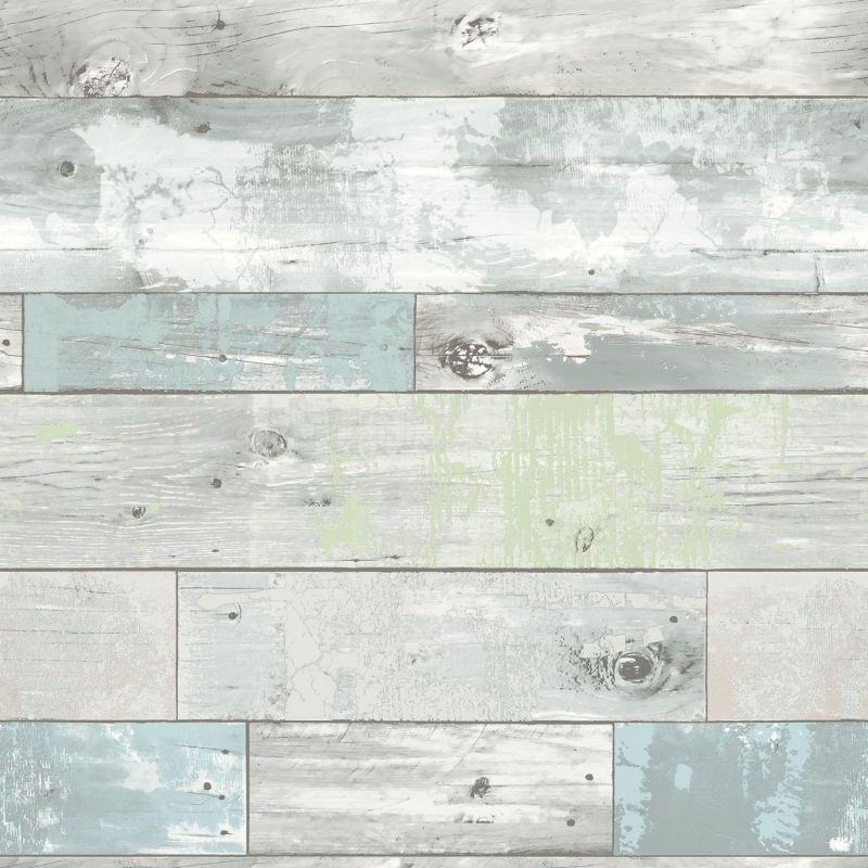 NuWallpaper NU1647 Beachwood Peel and Stick Wallpaper