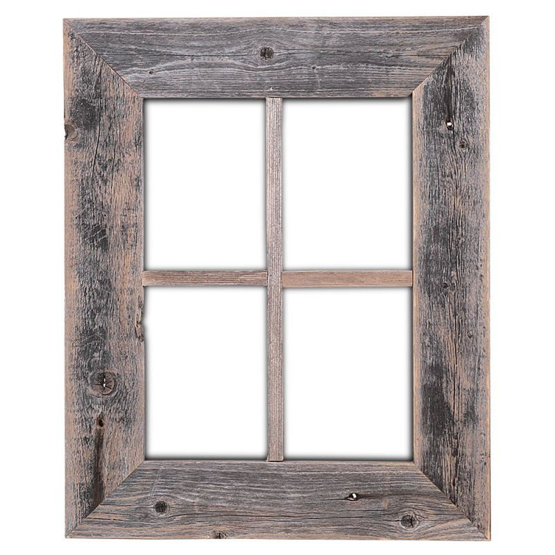 Old Rustic Window Barnwood Frames - Not For Pictures