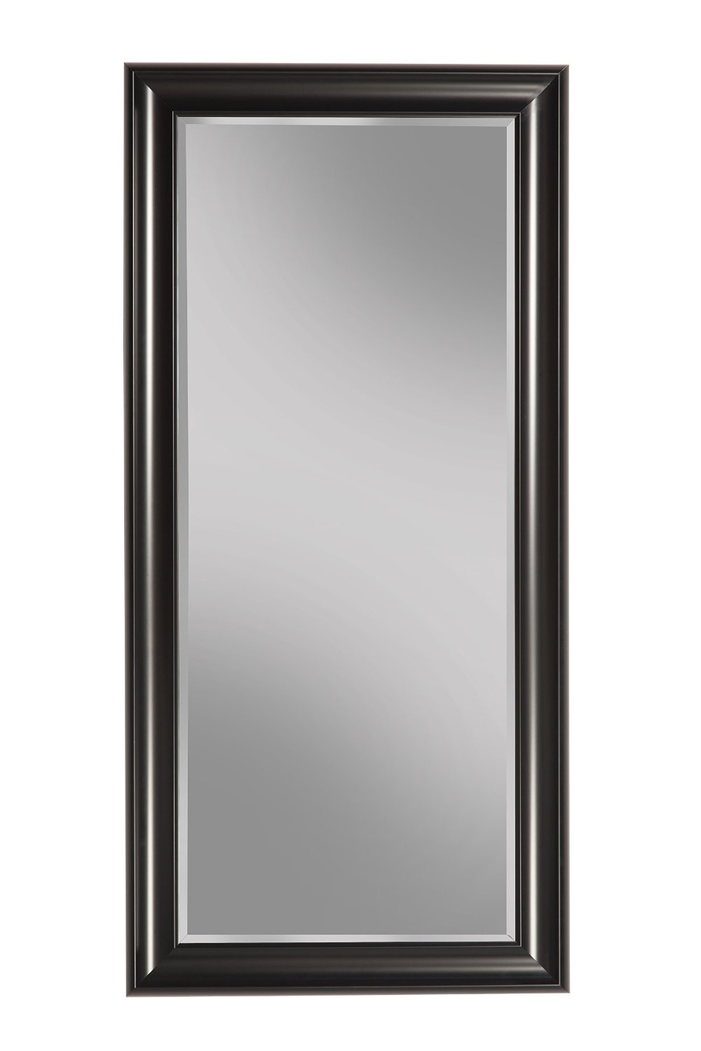 Sandberg Furniture Black Full Length Leaner Mirror