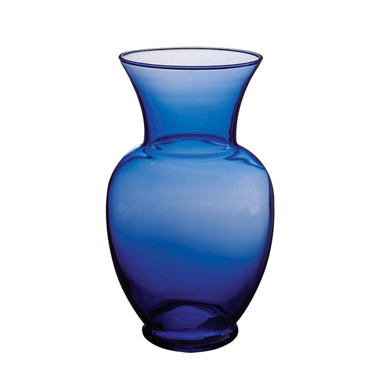 "Syndicate Sales 11"" Spring Garden Vase, Cobalt"