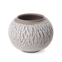 Todos® Crack Surface Bark Bowl, Decorative and Practical Chic Unique Rustic Simple Design Matte Finish Decorative Accessory, 20-Ounce (wide-mouthed)