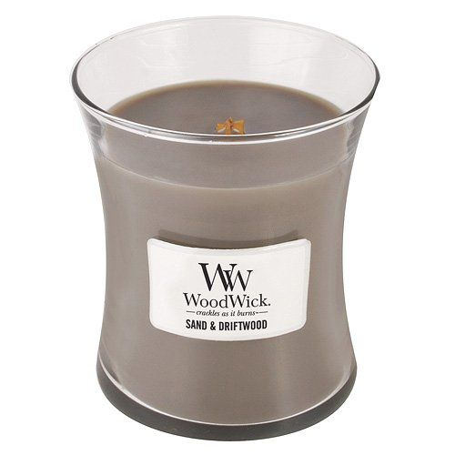 WoodWick Candle, Sand and Driftwood, Medium
