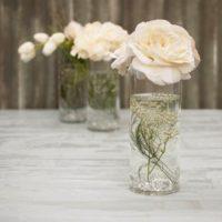 "Cylinder Flower Acrylic Vase Decorative Centerpiece Supply | 5"" x 10"" | Huge Sale"