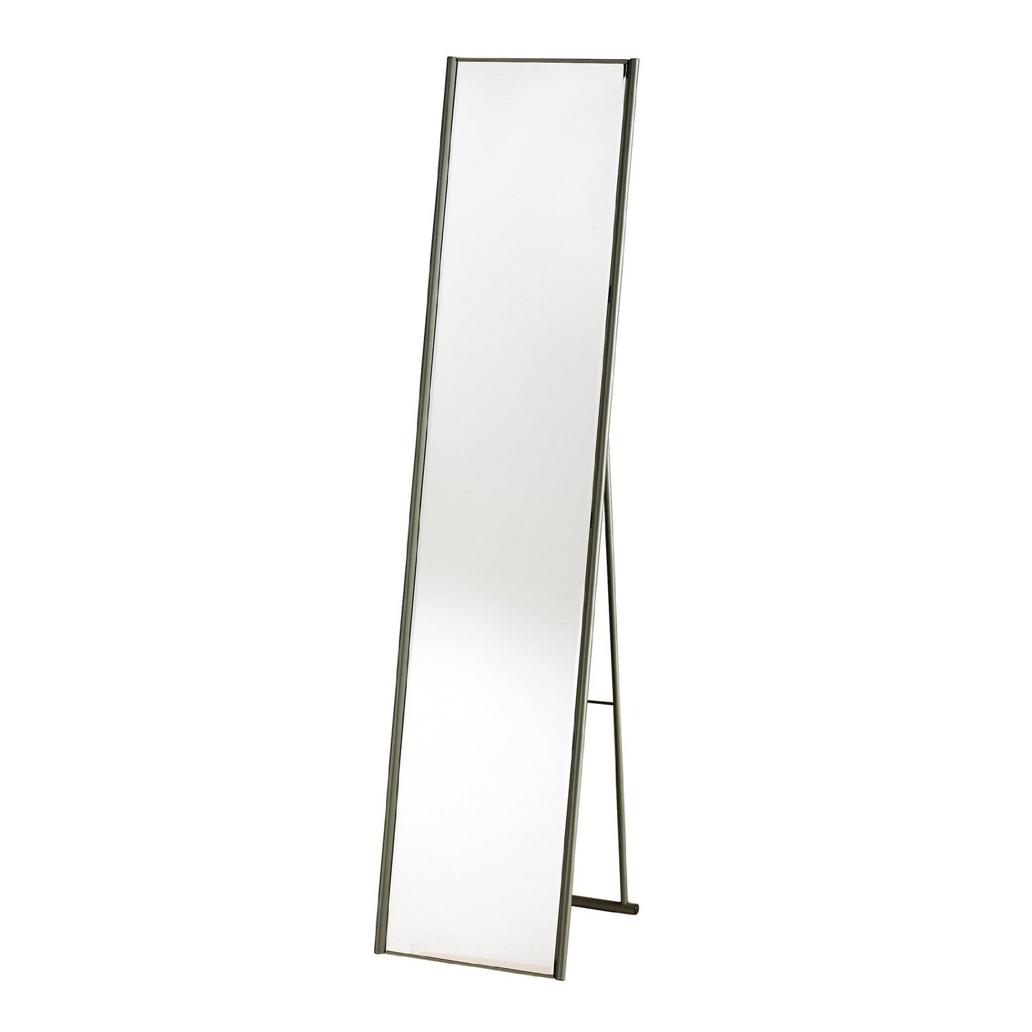 Adesso WK2444-22 Alice Floor Mirror, Steel